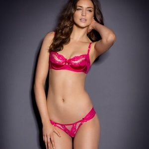 NWT Agent Provocateur Lacy Bra 34D and Ouvert 2(s)